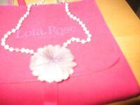 Lola Rose Flower necklace