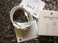 50x Authentic Apple USB Lightning Sync Charger Data Cable (2M) for iPhone X, 8, 8+ 7+7 6s+ 6s 6 6+5