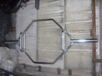 5ft Olympic hex bar - £60 ono