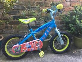 Toy story boys bicycle 3 to 8 years!