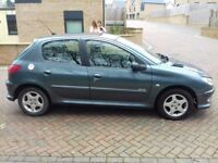 2005(05) 0WNED BY ONE FAMILY FROM NEW-PEUGEOT 206 VERVE- 5 DOOR HATCHBACK LONG MOT-LOW MILEAGE