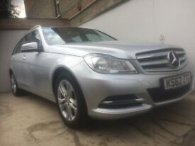 2013 62 MERCEDES C200 CDI SE EXECUTIVE AUTOMATIC ESTATE 2 OWNER 68K FSH PX WELCOME