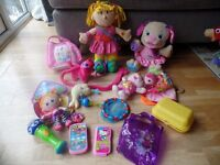 Toy bundle pink