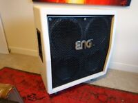 ENGL 412 Pro guitar cabinet (Limited Edition white tolex) with Celestion Vintage 30 speakers