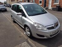 cheap for quick sale Vauxhall Zafira 1.9 CDTi Exclusiv 5dr 6 SPEED 7 seater drive good mot