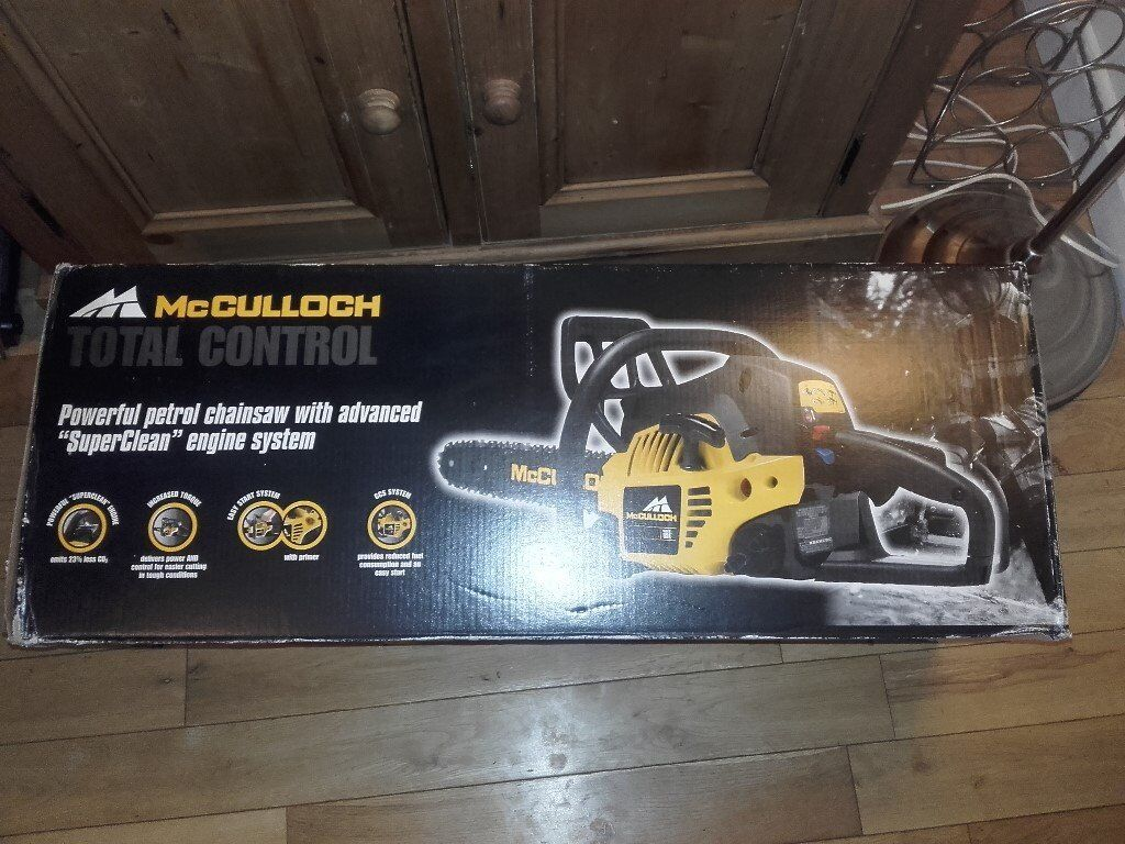 Brand New McCulloch MAC742 Chainsaw