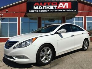 2011 Hyundai Sonata Limited, ALLOYS, SUNROOF, LEATHER
