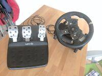 Logitech G920 Driving Force Racing Wheel + Pedals (BRAND NEW)