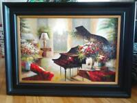 Beautiful signed painting