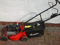 Sovereign Petrol lawnmower... SERVICED