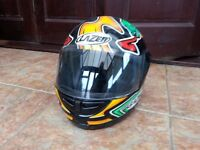 laser full faced motorcycle helmet 8 yrs onwards to 13yrs