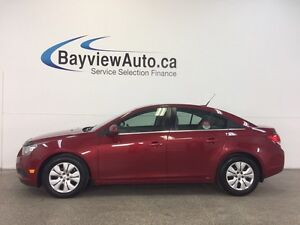 2014 Chevrolet CRUZE LT- TURBO! AUTO! A/C! ON STAR! CRUISE!