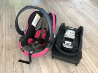 BeSafe Isofix Car seat and base in good condition
