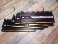 4X1GB DDR3 RAM 1600MHZ