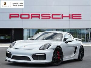 2016 Porsche Cayman GT4 UNLIMITED KM WARRANTY