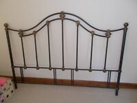 Metal Double Bed Headboard For Sale.