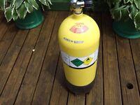 15lt. steel dive bottle