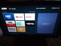 19inch Toshiba led TV with wifi YouTube