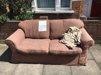 Free sleeper sofa (collection only) with a free throw!