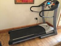Horizon Ti52 Treadmill 0-12mph speed, AirCell cushioning, Hydraulic drop, 10 Multilevel programs