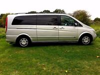 Mercedes-Benz Viano 2.2 CDI Ambiente Extra Long MPV 5dr With 1 Owner Only , Quick Sale £5995