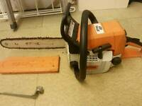"""sthil 14"""" chainsaw."""