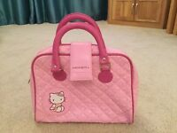 Girls pink hello kitty bag