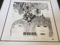 The Beatles 'Revolver' Limited Edition Framed Lithographic Print - 1993