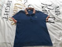 Size Large Blue Lacoste T-Shirt