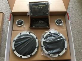 "*Brand New* Car Audio VIBE BLACKDEATH 6c-v6 - 6.5"" 420w 2 Way Component Speakers Woofer and Tweeters"
