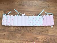 Mothercare crib/cot bumpers