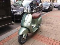 PIAGGIO VESPA LXV 50cc green 2008 low mileage hpi clear!!