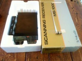 SCANNER RECEIVER/RADIO NEVADA MS-1000/AOR AR-2000