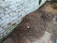 free gravel, if you can move it you can have it!