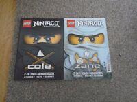 2 x Lego Ninjago books excellent condition
