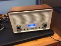 Sandstrom DAB and FM radio.