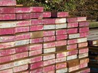 good quality 6ft used scaffold batons, 60mm thick