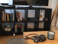 IKEA Shelving unit KALLAX BROWN-BLACK
