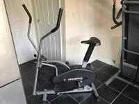 2in1 exercise bike & x-trainer