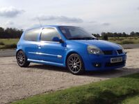 Clio 182 Racing Blue REDUCED £3300