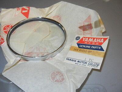 NOS Yamaha Headlight Head Light Lens Rim Cover Glass YL2 L5T YG5T (Headlamp Rim Cover)