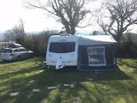 Sprite Major 6 berth touring caravan and full size awning plus extras