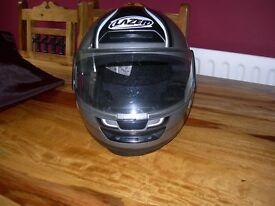 motorcycle crash helmet, Small 55-56, Lazer.