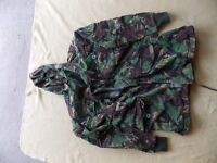 decomisioned army camo jacket