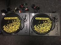 Limit turntable DJ2000