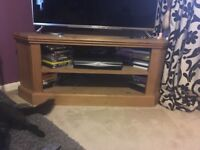 World of furniture pine tv corner unit
