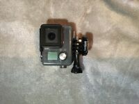 GO PRO CAMERA, hero+ lcd with head strap and high quality sd card