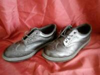 Size 7 Steel capped shoes