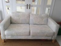 Karlstad Ikea 3 seater sofa, removable, washable covers