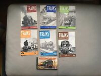 Trains illustrated issues 1-5 &6